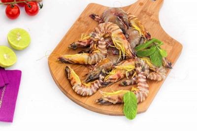 Jumbo Flower Tiger Shrimp (Large) - Whole