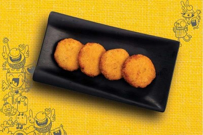 Chicken & Cheese Cutlets (200g - 4 numbers)