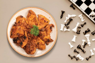 Boneless Chicken Slices In A Sweet Barbeque (350g Pack)