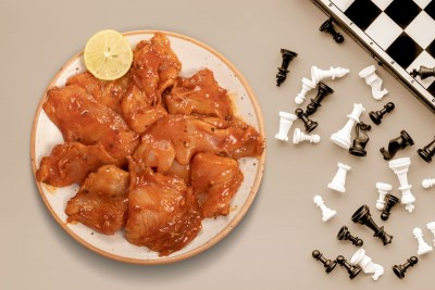 Boneless Chicken Slices In A Sweet Barbeque - Pack of 350g