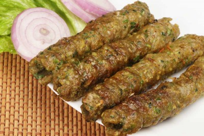 Nawabi Chicken Seekh Kebab (Microwave Ready) - 250gm Pack