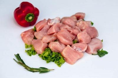 Premium Boneless Antibiotic Free Chicken Cubes