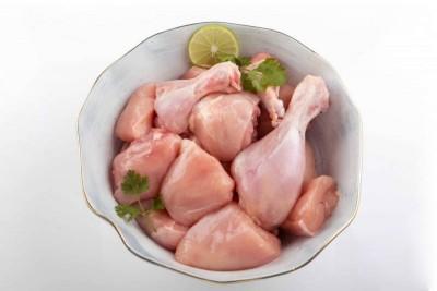 Premium Chicken - 1 Full Chicken Curry Cut (Skinless)