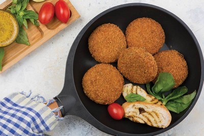 Yummy Chicken Cutlets - Pack of 3 (130g to 160g)