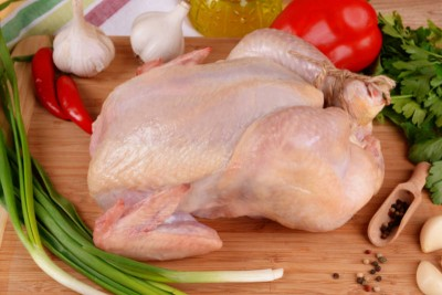 Premium Antibiotic Free Chicken Dressed with Skin - Whole (Final meat weight between 1.2kg to 1.4kg)