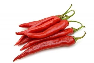 Red Chilli (TH) - Pack of 100g / فلفل أحمر حار تايلندي
