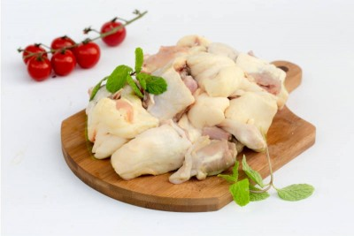 Free Range Country Chicken / Natti Koli - Pack of With Skin Chicken Curry Cut