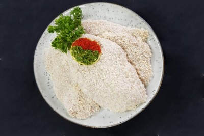 Chicken Schnitzel with Herby Tomato Sauce - Pack