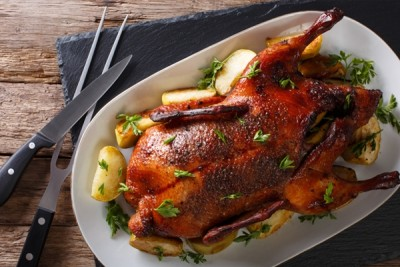 **Pre-Order** Stuffed Duck (ready-to-cook, final weight: 1.5kg+) - Delivery: 24th Dec 2019 (2pm to 8pm)