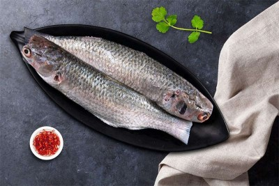 Grey Mullet / Thirutha/ Bhangor (Small) - Whole Cleaned