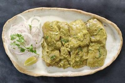 Boneless Hariyali Chicken Tikka - 350g pack