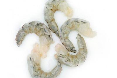 Indian Prawns / Venami / Vannamei - Peeled & Un-deveined (PUD) Meat