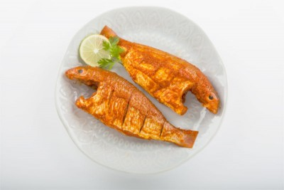 Marinated Large Pink Perch / Kilimeen / Sankara Meen / Thread Finned Bream (500g Pack)