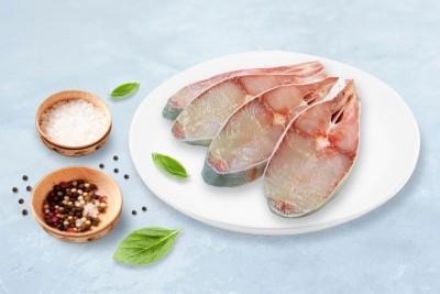 Chitol / চিতল/ চেতল / Chitala / Knifefish / Humped Featherback - Round Slice Cut (300gm Pack)