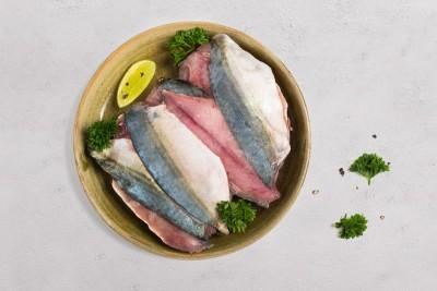 Tasty Mackerel / Ayala / Bangda / ಬಂಗಡೆ - Fillets (Freshly Frozen) (250g Pack)