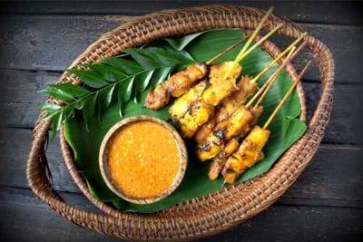 Gourmet Malay Chicken Satay - Skewers - Pack of 6 Skewers