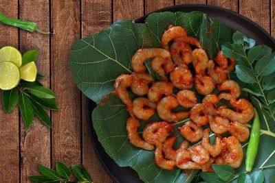 Marinated Small Prawns for deep fry (250g pack)