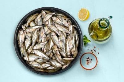 Mourala Maach / Mola Carplet Fish / মৌরলা  (Kolkata/Malancha) - whole (uncleaned, as is )