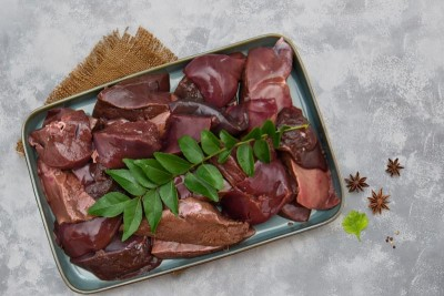 Premium Goat Liver - Cut Pieces