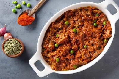 Mutton Mince Dry Fry / Kheema Matar (300g+)