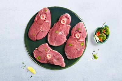 Premium Goat / ಮೇಕೆ - Leg Steaks (380 - 400g Pack)