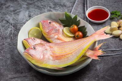 Pink Perch / Kilimeen / Sankara Meen / Thread Finned Bream (Medium) - Whole