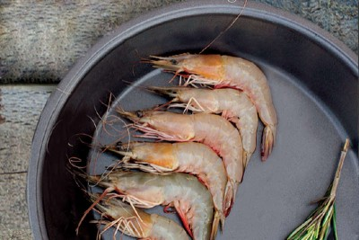 White Prawns / Poovalan Chemeen - Whole