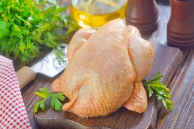 Premium Naturally Reared Slow Growth Chicken Sasso breed (With Skin) - Whole