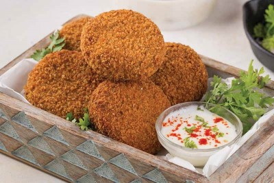 Yummy Seer Fish / Surmai / Vanjaram / Anjal Cutlets (Pack of 3, 140g to 160g)