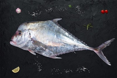 Silver Trevally / Kannadi Vatta - Whole