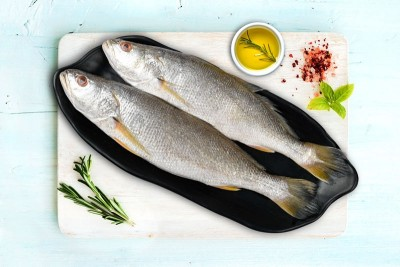 Silver Croaker / Kora / Bhola / ভোলা / Ghol Fish (Large) - Whole