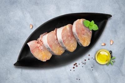 Singhara / Seenghala / Ayer / Aar / Long Whiskered Catfish / Vellakoori - Steaks