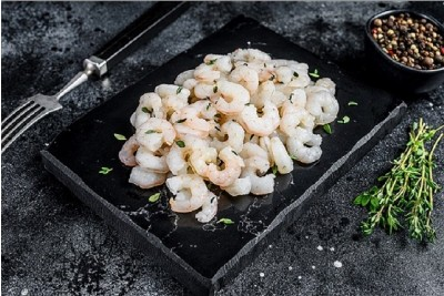 Small Cleaned Prawns / Kucho Chingdi - Peeled, Cleaned but not deveined (PUD)