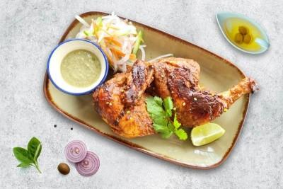 Marinated Tandoori Spring Chicken (Half)