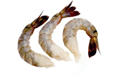 Tiger Prawns (Large) - Tail on (Peeled, Undeveined, With tail)