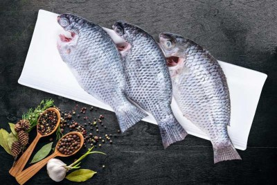 Tilapia / Jalebi Fish - Whole cleaned