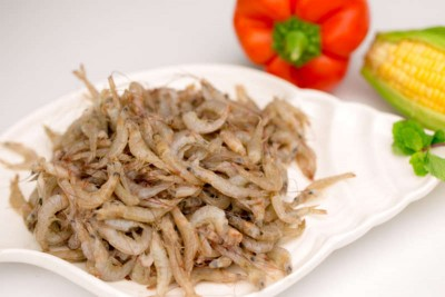 Tiny Soft-Shelled Prawns / Cheriya Chemmeen - Whole (Not Cleaned) (Shell can be eaten directly without peeling)
