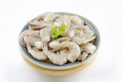 Indian Prawns / Venami / Vannamei (40+ Count/kg) - Tail on