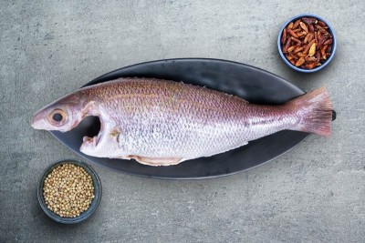 White Snapper / Vela Meen (Small) - Whole Cleaned