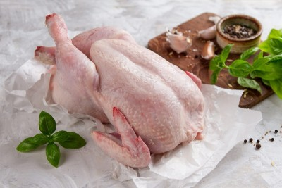 Premium Antibiotic-residue-free Chicken Dressed with Skin - Whole (With Skin, Not Cut In Pieces)