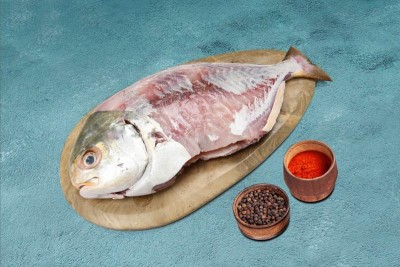 Yellow Pomfret / Valavadi - Whole Cleaned