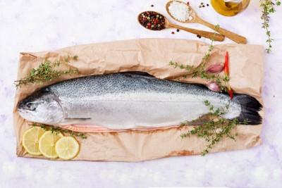 Organic Salmon - Gutted