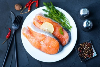 Farmed Fresh Atlantic Salmon - Steaks