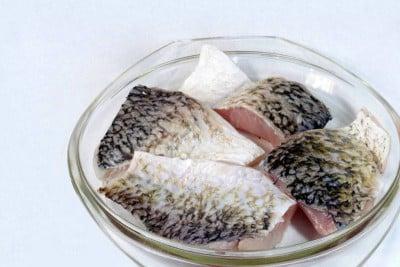 Bhetki / ভেটকী / Barramundi / Asian Seabass / Kalanji - Curry Cut (May include head pieces)