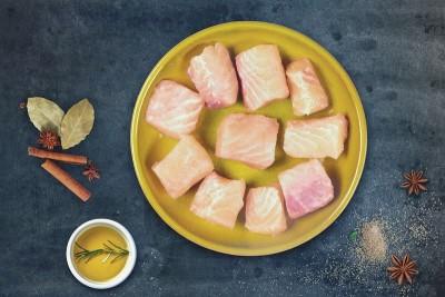 Fresh Indian Baasa / Pangasius / Pangas - Cube (500gm Pack)
