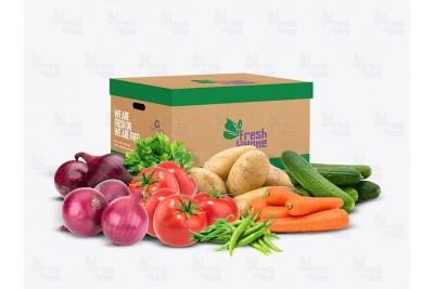 Basic Fresh Veggies Box - Approx 4kgs