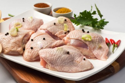 Premium Antibiotic-free Chicken Thigh Bone-less (with skin)