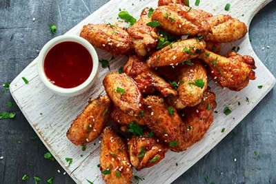 Gourmet Chicken Wings - Hot & Spicy Flavour