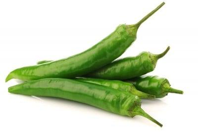 Chilli Green Long (AE) - Pack of 250g / فلفل أخضر طويل
