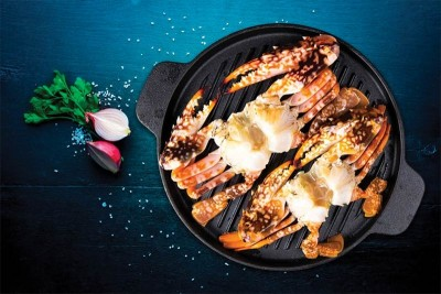 Sea Crab (Large 400g+) - Whole Cleaned (with minimal shell)